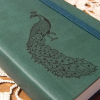 Peacock Pocket Journal Sketch Book Pad