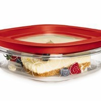 Rubbermaid FG7H76TRCHILI 3-Cup New Premier Food Storage Container