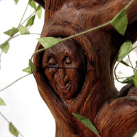 My Nana - Grandma Willow Inspired Wooden Carved Sculpture, 70 dollars donation for Equality Now by Foundation Beyond Belief