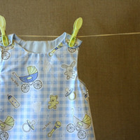 Cute organic cotton baby boy sleeping bag 39 months by pickurcolor