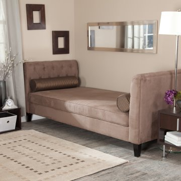 Melrose Daybed - Mocha - Chaise Lounges at Hayneedle