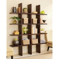 Tag Tic Tac Toe Bookcase Room Divider - Room Dividers at Hayneedle