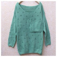 Minty Pullover