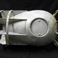 WWII Depth Charge Case MK9 1945 Beatrice Steel Tank by ifindubuy