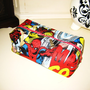Marvel Comics Superhero Boxy Make Up / Toiletry Bag