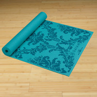 Neo-Baroque Yoga Mat Blues (3mm) - Yoga Mats - Yoga - Gaiam