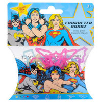 DC Comics Heroines Bandz Bracelets Featuring Batgirl, Supergirl and Wonder Woman: WBshop.com - The Official Online Store of Warner Bros. Studios