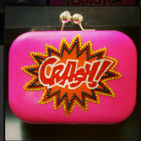 CRASH Comic Inspired Clutch