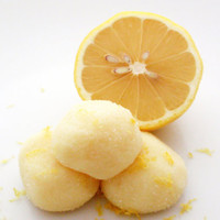 Lemon White Chocolate Truffles - Citrus Zest Candy