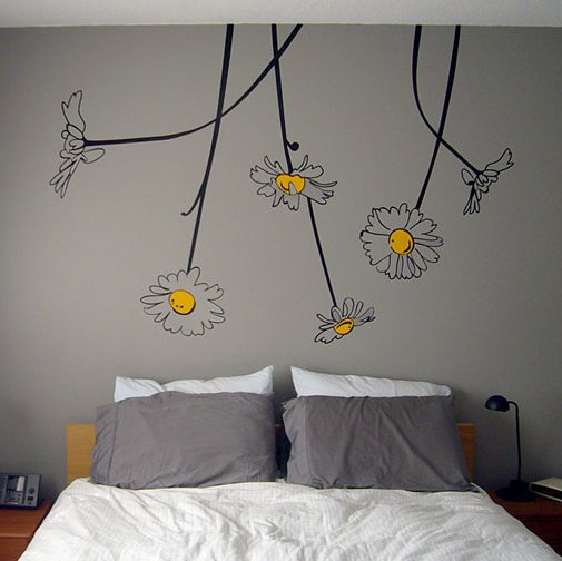 Surface Collective's Wall Tattoos / Wall Decals / Laptop Decals - Product - Oopsa-Daisies