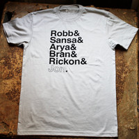 A Game of Thrones Tee by FencingNArchery on Etsy