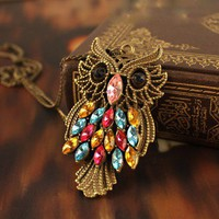 Antique Alloy With Colour Crystal O.. on Luulla