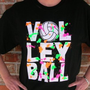 Amazon.com: Volleyball Splatter T-Shirt: Sports &amp; Outdoors