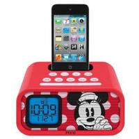 Amazon.com: eKids Minnie Mouse 30-Pin iPod Speaker Dock: MP3 Players &amp; Accessories