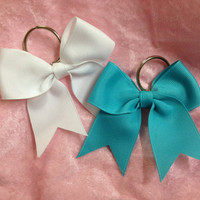 Key Chain Bow / Grosgrain Bow Keychain by KrisKrossBows on Etsy
