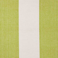 Dash & Albert Rug Company » Yacht Stripe Green/White Woven Cotton