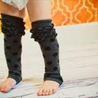 $6.99 Ready to Ship Girls 10 Inch Leg Warmer  by BabymeBows on Etsy