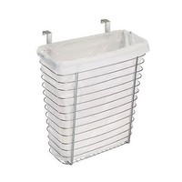 interDesign Axis Outside The Cabinet Waste/Storage Basket - QVC.com