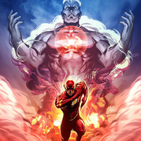 Captain Atom - Issue 3 by `Artgerm on deviantART