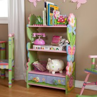 Teamson Magic Garden Bookcase - Kids Furniture at Hayneedle