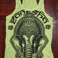 Women's Tank Top Ganesha Yoga Cloth.. on Luulla