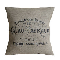 Cacao Payraud Cushion