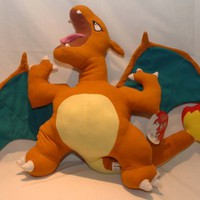 Pokemon Cuddle Pillow Charizard Plush 22 Inches