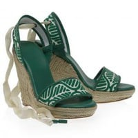 Boutique 1 - DVF 1974 - Multi Persephone Rope Wedges | Boutique1.com