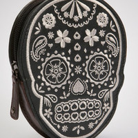 Day Of The Dead Skully Coin Purse