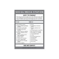 Knock Knock Nifty Note Pad, Social Media Citation