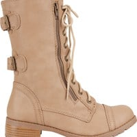 Soda Dome Womens Boots Camel  In Sizes