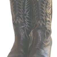 Nocoma Black Leather Cowboy BOOTS | eBay | Free Shipping