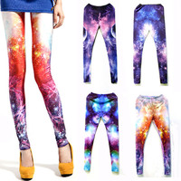 Fluorescent Galaxy Leggings