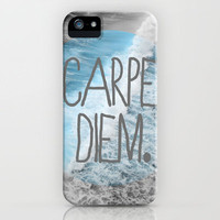 carpe diem. iPhone Case by Hannah Theurer | Society6