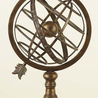 "25"" Copper Brass Armillary Sphere Globe Solar Earth"