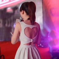HEART BACK DRESS from brave store