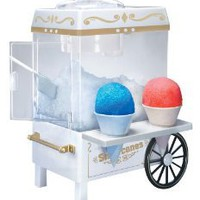 Amazon.com: Nostalgia Electrics SCM-502 Vintage Collection Old Fashioned Snow Cone Maker: Kitchen & Dining