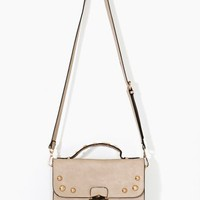 Camille Studded Satchel