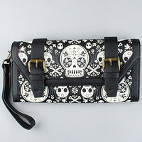 The Skull Magic Clutch : Loungefly : Karmaloop.com - Global Concrete Culture