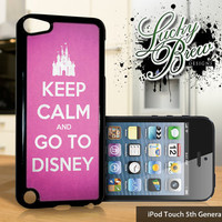 NEW iPod Touch 5 Case  Keep Calm Go To Disney by LuckybrewDesigns