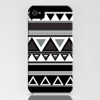 Aztec Tribal Pattern iPhone 4 case iPhone 4s Case by TICKandPICK