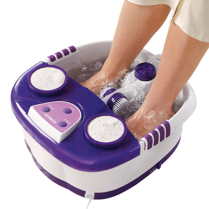 Heated Aqua Jet Foot Spa From Brookstone Things I Want As Gifts