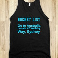 bucket list wallaby way tank - glamfoxx.com
