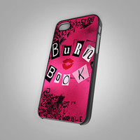 Mean Girls Burn Book - KC New 090 - Design on Hard Cover - iPhone 4 / 4S Case, iPhone 5 Case