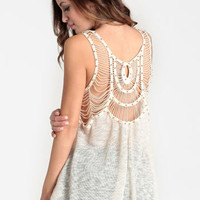 Washed Ashore Cutout Tank - $32.00 : ThreadSence, Women's Indie & Bohemian Clothing, Dresses, & Accessories