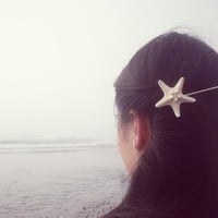 Buy One Get One Free Sale - Starfish Bobby Pin - Beach Boho Cute Adorable Elegant Romantic Whimsical Dreamy Sea Star - Mermaid - You Choose