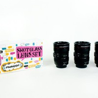 The Shot Glass Lens Set - The Photojojo Store!