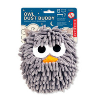 Kikkerland Design Inc   » Products  » Dust Buddy Gray Owl