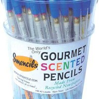Smencils Gourmet Scented Pencils Assorted Smells (Pack Of 5)