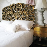 Gilt Rococo Headboard|Headboards|Beds &amp; Mattresses|French Bedroom Company